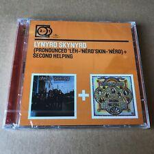 "Lynyrd Skynyrd ""Pronounced Leh-nerd' Skin-nerd + Second Helping"" 2CD Sealed"