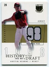 2004 SkyBox LE History of the Draft 90's Gold AUSTIN KEARNS Jersey Rare SP #/10