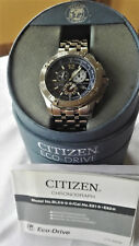 Herrenuhr Citizen Eco Drive Chronograph E812