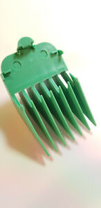 """Wahl Clipper Attachment Comb No7 22mm 7/8"""" - Fits Full Sized WAHL Clippers Green"""