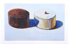Wayne Thiebaud - Dark And White Cake