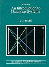 Introduction to Database Systems, Date, Chris J., Good Book