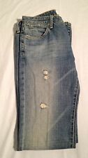 Paper Denim & Cloth Women's Blue Cotton Retro Jeans Size 30