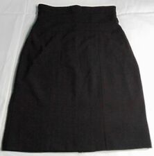 Windsor Women's Black Vintage Banded/Structured Pencil Skirt Made In Usa Size S