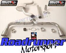 """Milltek Golf GTI MK7 Exhaust 3"""" Cat Back Non Res Rear Race Version LOUD TITANIUM"""