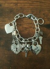 Key & Heart Charm Bracelet from GUESS