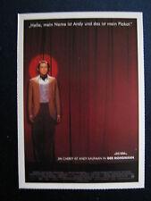 Filmplakatkarte cinema  Der Mondmann   Jim Carrey, Danny DeVito
