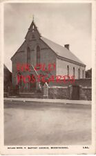 Leicestershire -  MOUNTSORREL, Baptist Church, Real Photo used 1915.