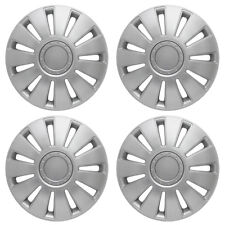 "15"" Ford Transit Connect Wheel Trims Hubcaps X 4 Silver Hub Caps Van Quality New"
