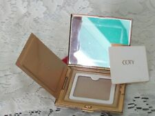 Coty Vintage Gold Tone Compact Never used Super Clean