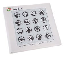 ORIGINAL FlashPad Flash Pad Touchscreen Electronic Handheld Game w/Light & Sound