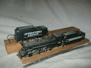 A6414 HO TYCO CHATTANOOGA OR AT&SF 2-8-2 STEAM LOCOMOTIVE