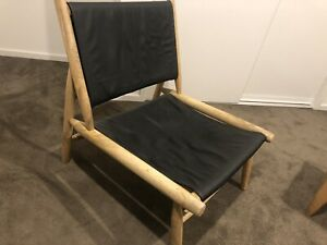 Leather Looking Armchair