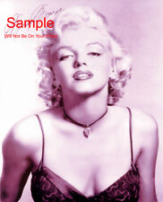 MARILYN MONROE Signed Autographed Reprint Photo #1