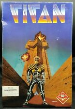 NEW Commodore TITAN by Titus Vintage RARE Arcade Game C 64 C- 128 d SX-64