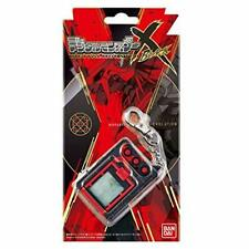 Premium Bandai Digital Monster X Black Digimon Digivice w/ Tracking NEW
