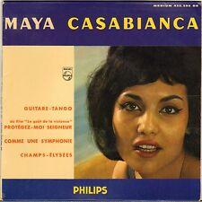 "MAYA CASABIANCA ""GUITARE-TANGO"" 60'S EP PHILIPS 432.590"