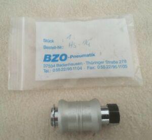 BZO Handschiebeventil HS - 1/4'' Neu