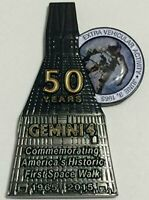 NASA Gemini 4 Medallion Token Contains Flown In Space Metal Numbered Limited