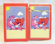 BRAND NEW VTG  KOOL AID MAN & SHARKLEBERRY FIN AT BEACH PLAYING CARDS FAST SHIP!