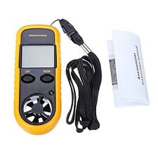 Digital LCD Handheld Anemometer Wind Speed Velocity Meter Thermomoter Sailing UK