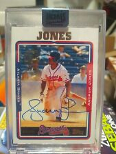 2018 Topps Archives Signature series  Andruw Jones AUTO #3/3 SSP BRAVES