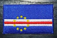 CAPE VERDE Country Flag Embroidered PATCH Badge *NEW*