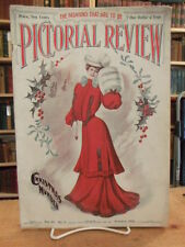 Pictorial Review, 1903 Christmas, January issue, Antique Christmas Fashion Mag