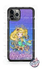 Queen of the Mermaid Sea Princess Phone Case For iPhone Samsung S20 LG Google 4