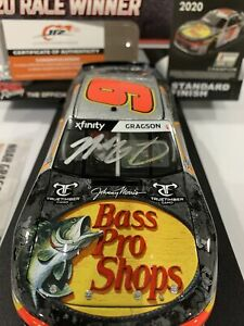 #9 Noah Gragson Bass Pro Black Rifle Daytona Champion Autographed