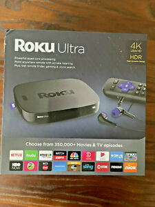 Roku Ultra 4K/HD/HDR Streaming Media Player with JBL Headphones - Black 2018