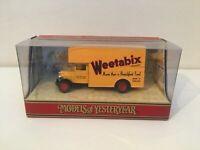 MATCHBOX MODELS OF YESTERYEAR Y31-B WEETABIX MORRIS COURIER VAN