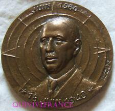 MED10869 - MEDAILLE GENERAL DE GAULLE 18 JUIN 1940 RESISTANCE - 1980 par GUIRAUD