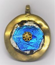 Orgonite Pendant Protection & Healing Orgone Tiger's Eye, Copper, Iron & Silver