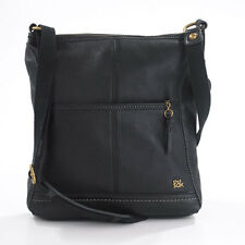 "NWT The Sak ""Iris"" 104118 Black Leather Medium Size Crossbody Bag Compare @ $99"