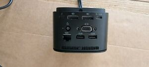 HP Universal Docking station USB C hardly used comes with charger