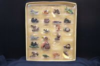 "Box of Vtg 24 Carson Pirie Miniature Outdoor Ornaments-""Critters',Fish,Birds,++"