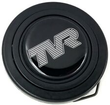 TVR steering wheel horn push button. Fits Momo Sparco OMP Nardi Raid logo etc