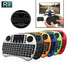 Rii i8+ 2.4Ghz Mini Wireless Keyboard w/ BACKLIGHT for Raspberry PI Kodi PC PS4