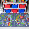 Children's Rugs Town Road Map City Rug Play Village Mat for Kids Bedroom Playmat
