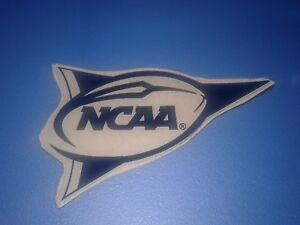 Navy blue NCAA pennant banner football helmet decal for full size helmets