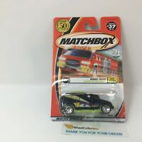 Robot Truck #37 * Black * Matchbox MXB * g12