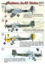 Print Scale Decals 1/32 JUNKERS Ju-87 STUKA German Dive Bomber Part 1