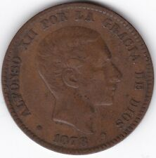 1878 Spain Alfonso XII 10 Centimos***Collectors***