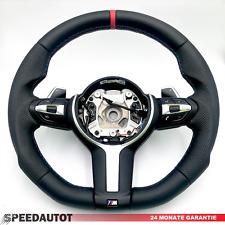 Submerge Tuning Flattened BMW Black Steering Wheel F30 F32 F20 X1 X3 X5 X6 M Smg