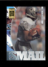 1995 Collector's Edge RAGHIB ROCKET ISMAIL Oakland Raiders Black Label Card