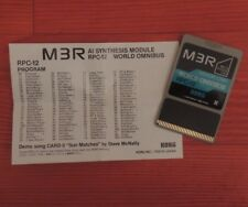 KORG 90' M1 WORLD OMNIBUS RPC-12 Memory Program card M3R Full SET */*