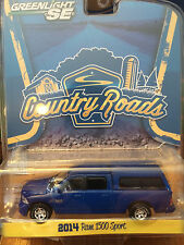 Greenlight COUNTRY ROADS 2014 Dodge Ram 1500 Sport Pickup blue