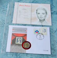 Monaco  2 Euro 2012 , Numisbrief Grace Kelly ***  Unabhängigkeit