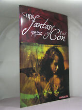 signed by Neil Gairman, Christopher Fowler, BFS 2008 Fantasy Con Programme Book